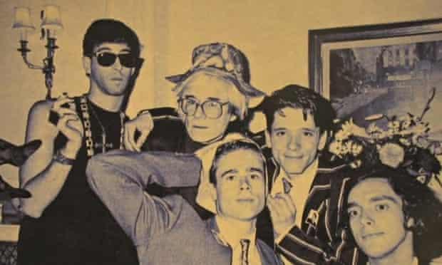 Jeremy Deller meets Andy Warhol london hotel