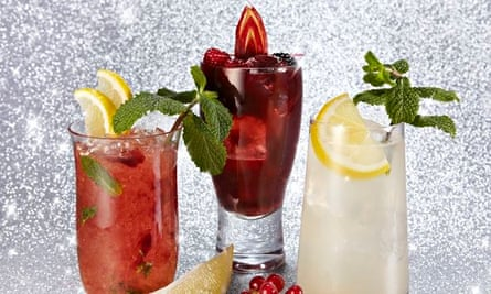 Alcohol-free Christmas cocktails