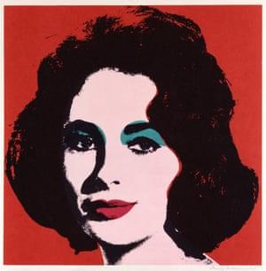 Dame Elizabeth Taylor, 1967 by Andy Warhol.