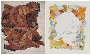 William Morris Andy Warhol floral designs