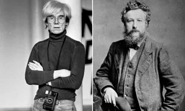 Andy Warhol and William Morris