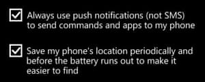 Windows Phone tip 18 - Find your phone