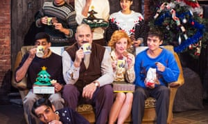Taste Test The East Is East Cast Sample The Best Christmas Biscuits