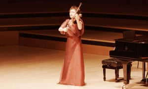 Kyung Wha Chung at the Royal Festival Hall, 2 December 2014