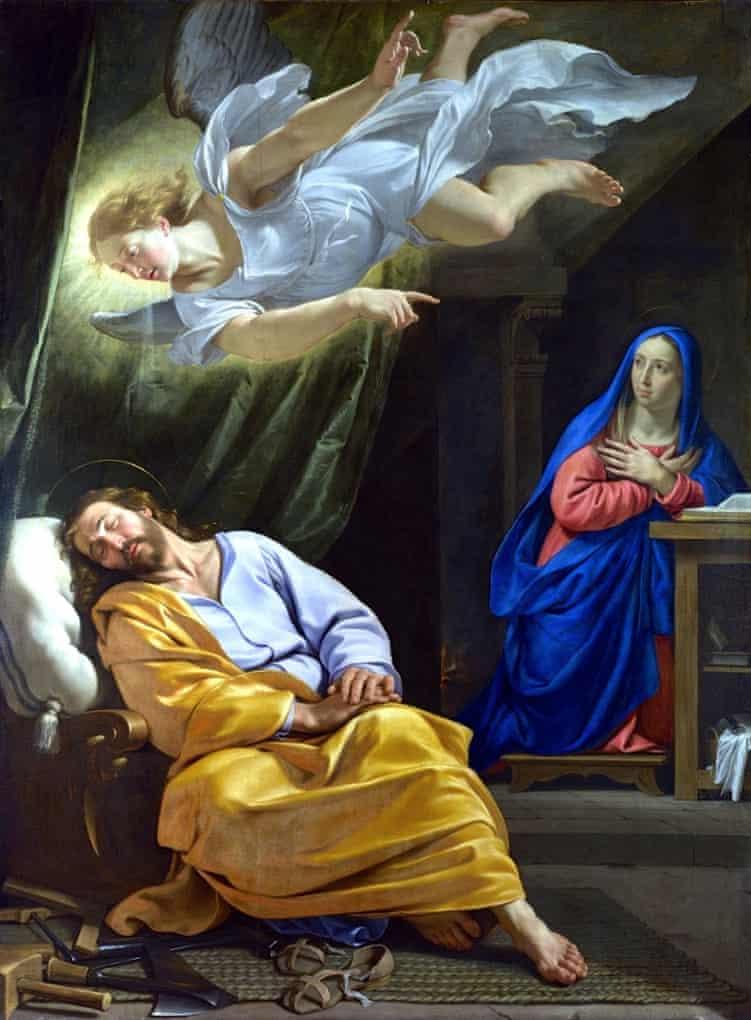 Philippe de Champaigne, The Dream of Saint Joseph, c. 1642-3