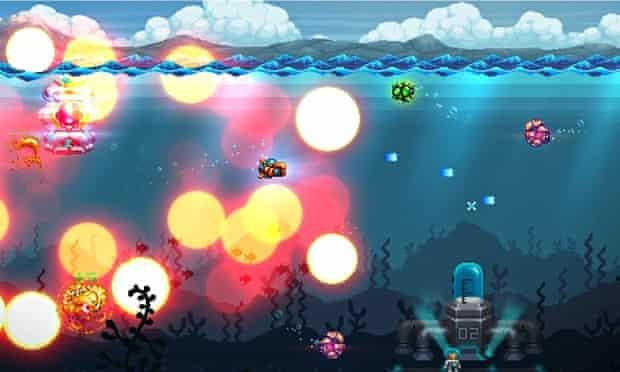 Aqua Kitty: Milk Mine Defender: vibrant fun.