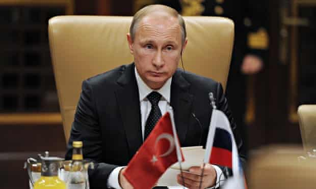 President Putin on working visit to Turkey
