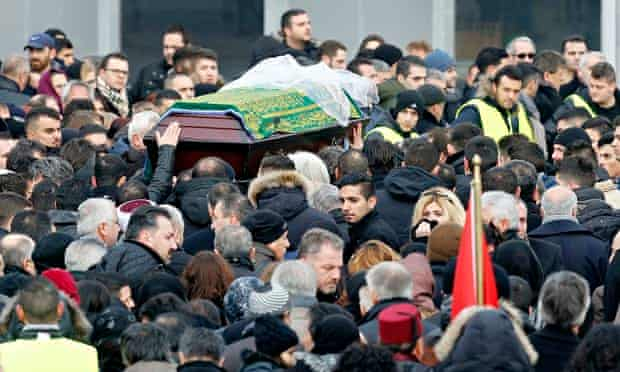 Tuğçe Albayrak funeral
