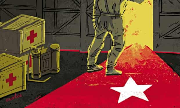 Illustration for Cuba's global medical record