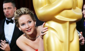 Solid gold ... Jennifer Lawrence, who is 2014's biggest box office draw