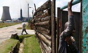 Mopani Copper Mines in Zambia. Photo: Jean-Claude Coutausse/Bloomberg News