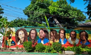 Get up, stand up … and celebrate what would have been Bob Marley's 70th birthday in February 2015. Bob Marley museum, Kingston, Jamaica (pictured).