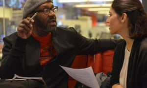BBC Radio 4 Today programme guest editor Lenny Henry with presenter Mishal Husain