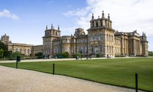 Blenheim Palace, Oxfordshire, England.