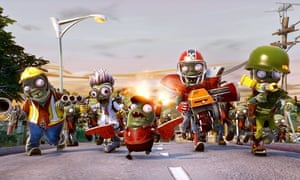 The family-friendly Plants vs Zombies is, as the title suggests, joyfully funny. Photograph: PR