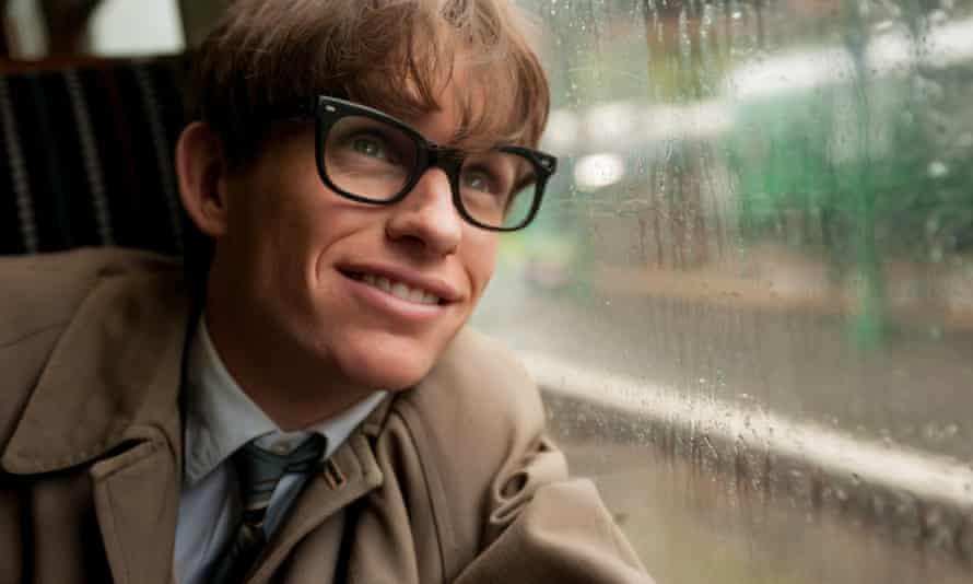Redmayne as Stephen Hawking