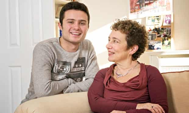 Suzanne Franks and her son Ben