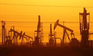 A shale oilfield