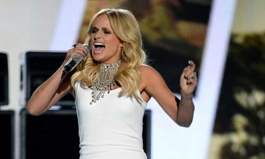 Miranda Lambert: one of the few female country musicians to get large radio play.