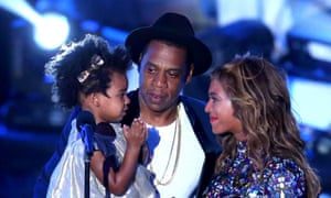 Beyonce, Jay-Z and daughter
