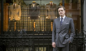 Kitted out ... Colin Firth in Kingsman: The Secret Service