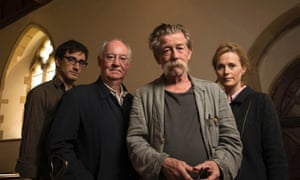 Not quite Borodino: Ferdinand Kingsley, David calder, John Hurt and Natasha Little recorded War and Peace in a hotel in Lewes