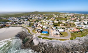 The West Coast town of Yzerfontein, north of Cape Town.