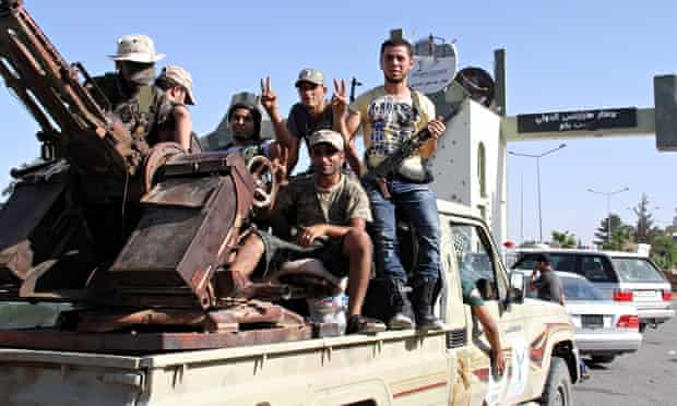 Tripoli, Libya, August 2014: this failing state will be a place to watch in 2015