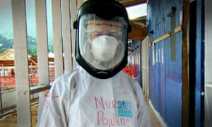 Pauline Cafferkey was working at the Kerry Town Ebola treatment centre in Sierra Leone