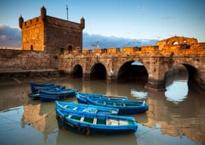 Ramparts of Skala de la Ville, Essaouira.