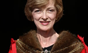 Fiona Woolf received damehood for services to the legal profession, diversity and the City of London