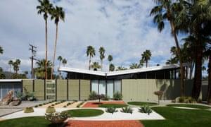 Palm Springs mid-century house.