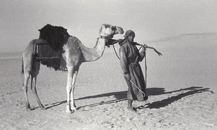 Wilfrend Thesiger during the second crossing of the Empty Quarter, Oman 1948