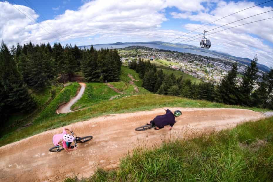 Skyline Rotorua MTB Gravity Park, New Zealand.