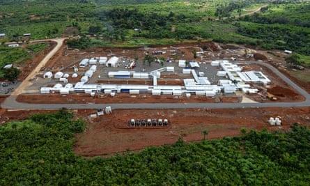 Kerry Town Ebola treatment centre in Sierra Leone