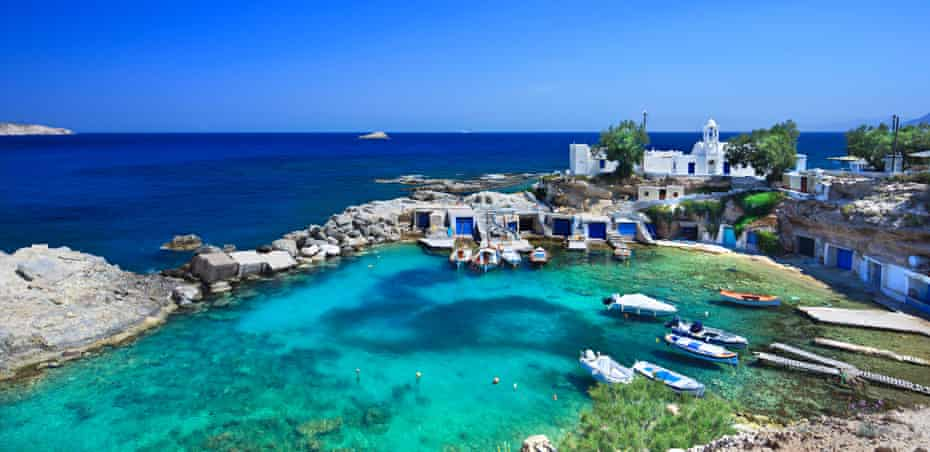 The unspoilt Greek island of Milos is now easier to reach thanks to budget flights to Mykonos.