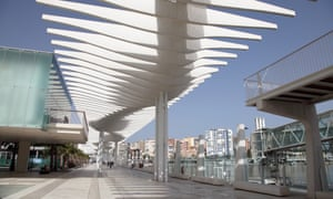Paseo Maritimo, Málaga