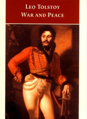 The cover of the Oxford World's Classics edition of War and Peace.