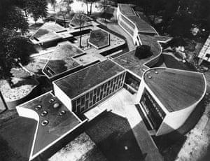 Hallfield Primary School, Bishop's Bridge Road, Paddington, London, 1955