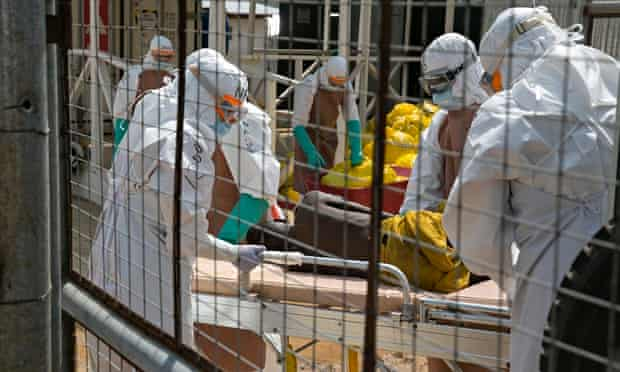 British health workers in Sierra Leone