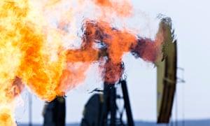 Methane burn