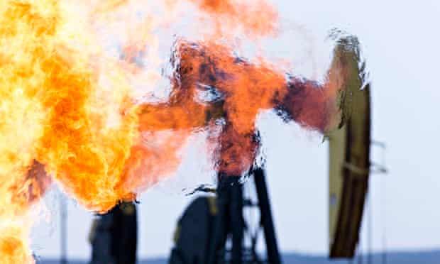 Methane burn north dakota