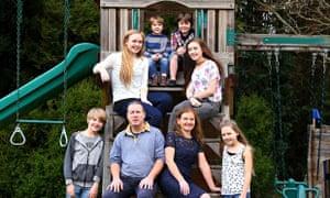 Julia Bramble and family