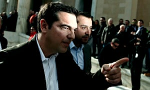 Alexis Tsipras, head of Greece's radical leftist Syriza party