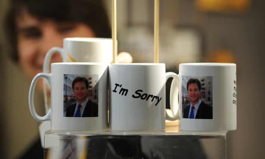 Nick Clegg mugs