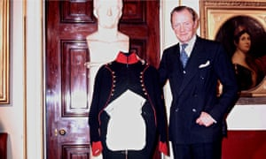 The Duke of Wellington in 1976.
