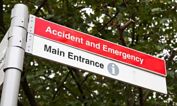 Accident and Emergency Unit sign