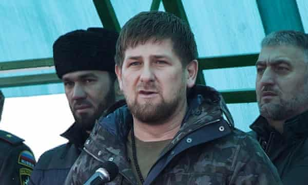 Chechen leader Ramzan Kadyrov photographed in November.