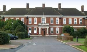 The Animal Health and Veterinary Laboratories Agency in Weybridge, Surrey.