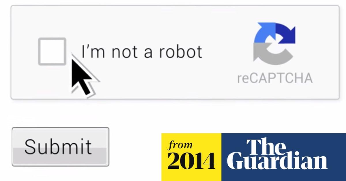 No more infuriating Captcha: Google simply asks 'are you a